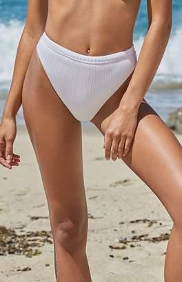 La Hearts Sydney Ribbed High Cut Bikini Bottom