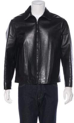 Neil Barrett Lightweight Leather Jacket