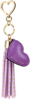 Victoria's Secret Victorias Secret Heart Tassel Keychain