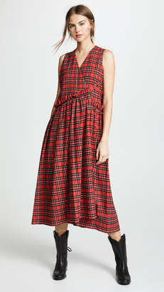 Golden Goose Plaid Dress Alba