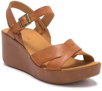 KORKS Denica Platform Wedge Sandal