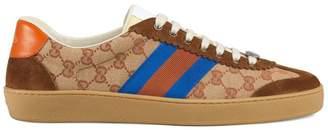 Gucci Original GG and suede Web sneaker