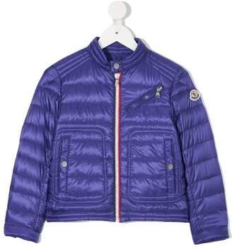 Moncler front pockets padded jacket