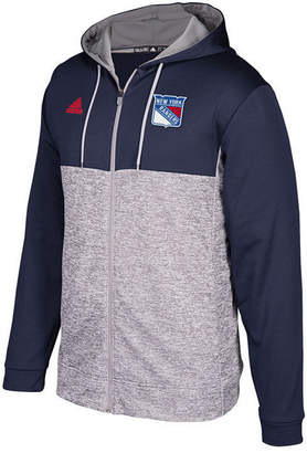 adidas Men's New York Rangers Two Tone Full-Zip Hoodie