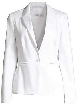Max Mara Women's Anselmo One-Button Blazer