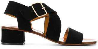 Chie Mihara crossover strap sandals