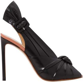 Francesco Russo Draped-effect heels