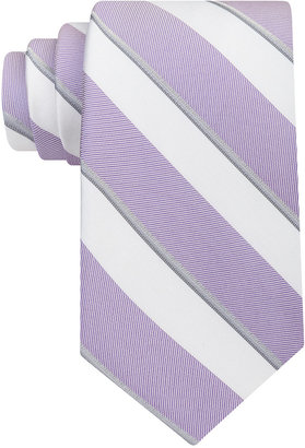 Calvin Klein Men's Cabana Stripe Tie $65 thestylecure.com