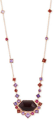Stephen Webster Gold Struck Garnet, Ruby & Amethyst Pendant Necklace