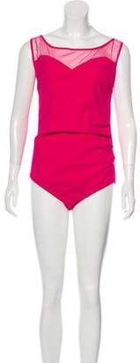 Chiara Boni Agave One-Piece Swimsuit w/ Tags