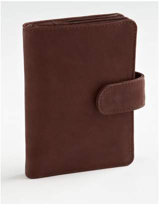 Derek Alexander Leather Wing Wallet