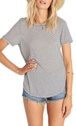 Billabong Good Show Stripe Tee $34.95 thestylecure.com