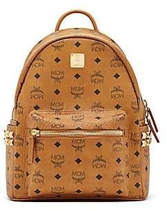 2eb6c09c115 MCM Women s Mini Stark Studded Coated Canvas Backpack