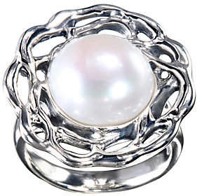 ING Hagit Sterling 12mm Round Cultured Pearl R