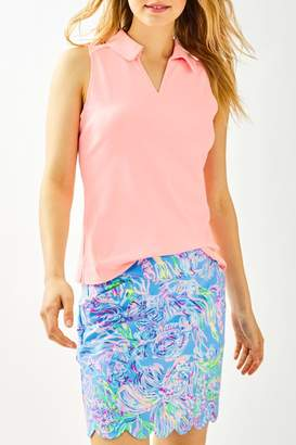 Lilly Pulitzer Luxletic Reesa Golf-Polo