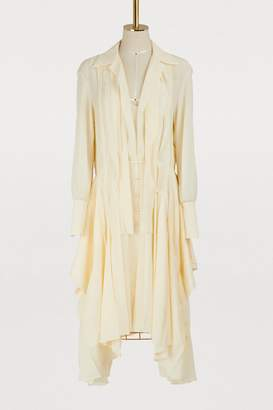 Chloé Silk shirt dress