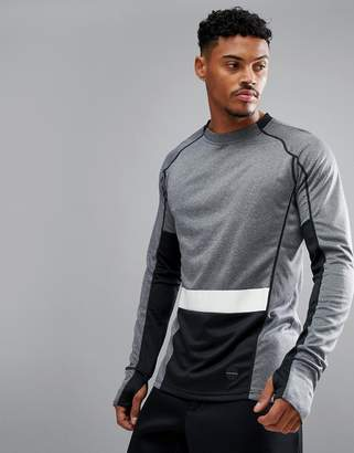 Bjorn Borg Performance Long Sleeved Top In Color Block