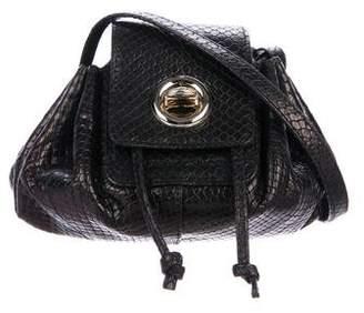 See by Chloe Embossed Drawstring Crossbody Bag