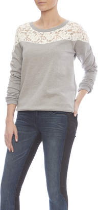 Threads 4 Thought Heather Grey Sweater