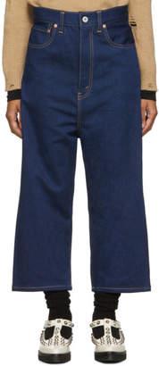 Junya Watanabe Indigo Wide Jeans