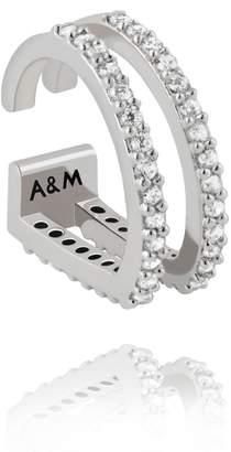Astrid & Miyu - Wishbone Ear Cuff In Silver