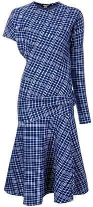 Calvin Klein asymmetric dress