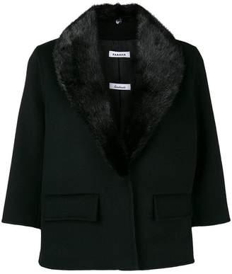 P.A.R.O.S.H. cropped sleeve jacket