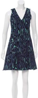 Proenza Schouler Jacquard A-Line Dress