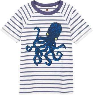 Tea Collection Octopus Stripe T-Shirt
