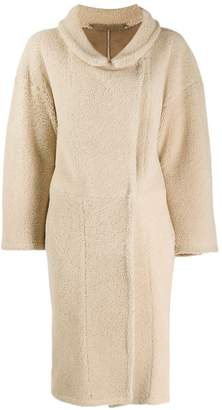 Salvatore Santoro long shearling coat
