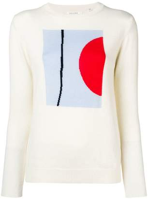Parker Chinti & graphic sweater
