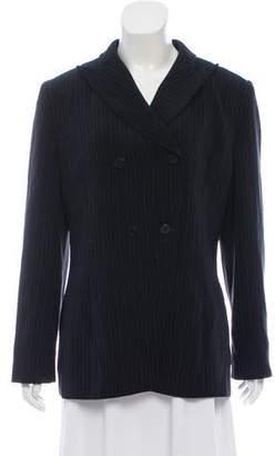 Bill Blass Vintage Striped Blazer