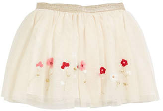 Mayoral Tulle Polka-Dot Skirt, Size 3-6
