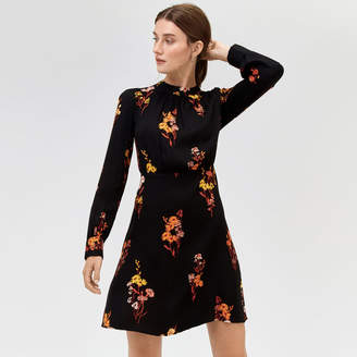 Warehouse Glowing Floral Dress