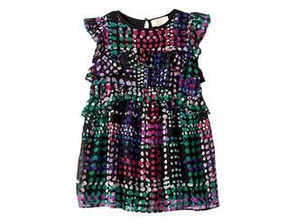 Kate Spade Kids Ruffle Tiers Dress (Toddler/Little Kids)