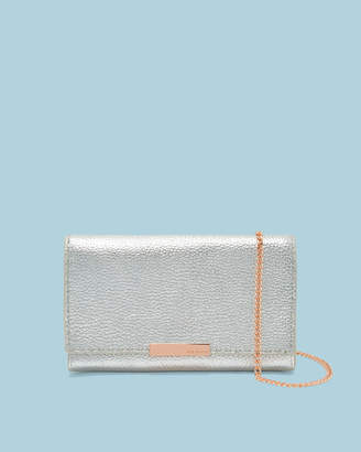 Ted Baker JANET Leather matinee purse with chain strap