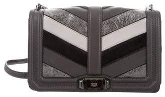 Rebecca Minkoff Patchwork Chevron Love Crossbody Bag w/ Tags