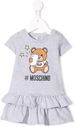 Moschino Kids Teddy Bear T-shirt dress