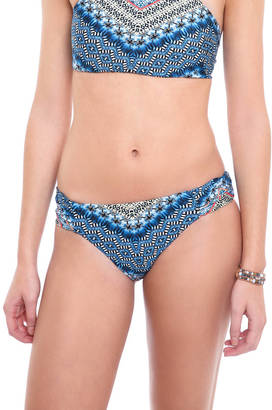 Lucky Brand Nomad Chevron Reversible Hipster Bikini Bottoms $64 thestylecure.com