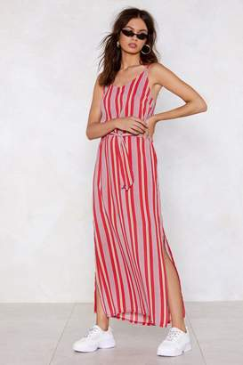 Nasty Gal What's Line is Yours Striped Dress