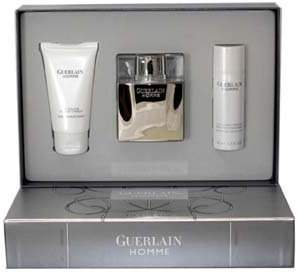 Guerlain Homme 3-Piece Gift Set for Men