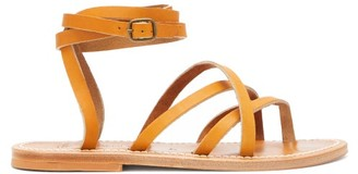 K. Jacques Zenobie Leather Sandals - Womens - Tan