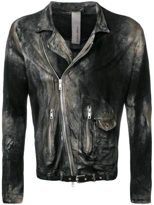 Giorgio Brato distressed biker jacket