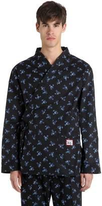 Kenzo Memento Printed Poplin Pajama Shirt