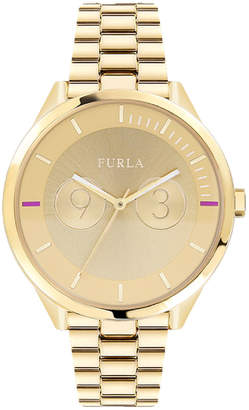 Furla 31mm Metropolis Bracelet Watch, Yellow Golden