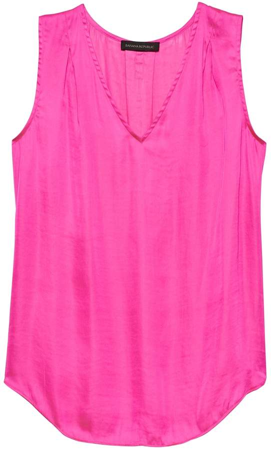 Pleated Drapey Tank