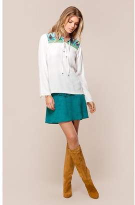 Hale Bob Lucinda Embroidered Top