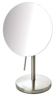 Sharper Image JRT585C 7.5-inch Slimline Tabletop 5x Magnification Vanity Mirror