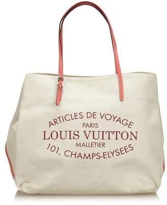 Louis Vuitton Vintage Corail Articles De Voyage Cabas Gm