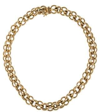 14K Chain-Link Necklace